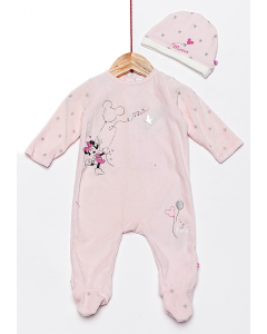 Set 3 piese bebe  Minnie 0/6 luni