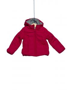 Jachetă vătuită cu glugă fete 2/14 ani