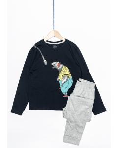 Pijama mânecă lungă băieți 9/14 ani
