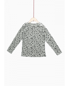 Tricou mânecă lungă fete 2/14 ani