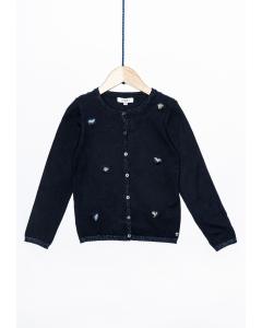 Jachetă tricotată fete 2/14 ani Colecție Nouă
