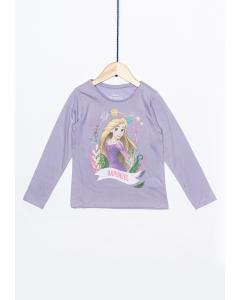 Tricou mânecă lungă fete 2/8 ani Rapunzel