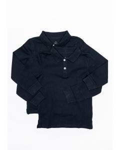 Set 2x tricouri mânecă lungă băieți 2/14 ani