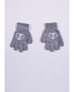 Mănuși cu imprimeu  Elsa fete 2/8 ani