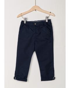 Pantaloni din twill elastic bebe 3/36 luni