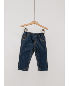 Jeans basic bebe 6/36 luni