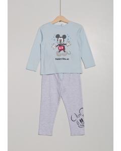 Pijama bebe 9/36 luni Mickey