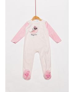 Salopetă noapte bebe 0/23 luni Minnie