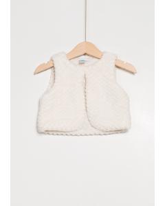 Vestă blană artificială bebe 6/36 luni