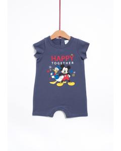 Salopetă noapte bebe  Donald & Mickey 0/23 luni