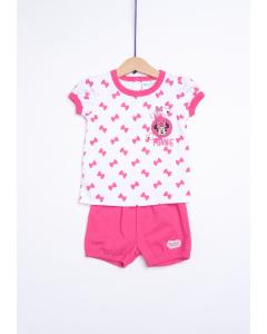 Pijama bebe Minnie 3/36 luni