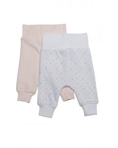 Set 2 pantaloni nou născut 0/6 luni