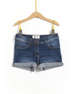 Pantaloni scurți jeans fete  2/14 ani