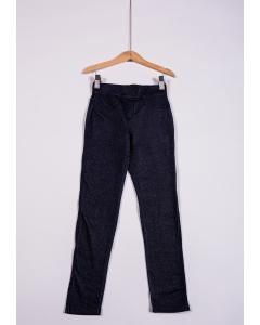 Pantaloni fete cu buzunare 2/14 ani
