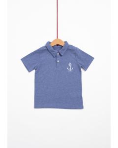 Tricou polo mânecă scurtă băieți 2/14 ani