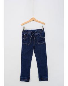 Jeans băieți cu buzunare aplicate 2/14 ani