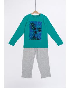 Pijama băieți 9/14 ani