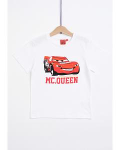 Tricou mânecă scurtă băieți 2/8 ani Mc Queen