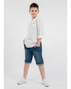 Cămașă mânecă lungă băieți 2/14 ani
