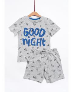 Pijama mânecă scurtă băieți 2/8 ani
