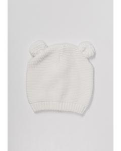 Căciulă tricotată cu urechi 0/24 luni