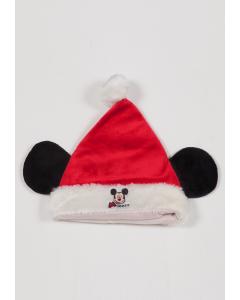 Căciulă  motiv Crăciun 0/24 luni  Mickey