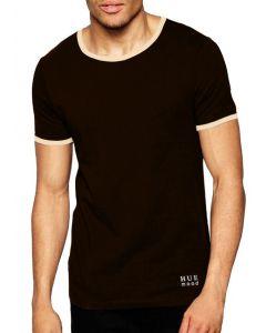 Tricou barbati T-Shirt Uomo Contrasto