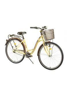 Bicicleta DHS CITADINNE 2838 Galben - 450mm