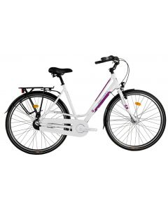 Bicicleta Dama DEVRON URBIO LC2.8 2016 Ivory White 540 mm