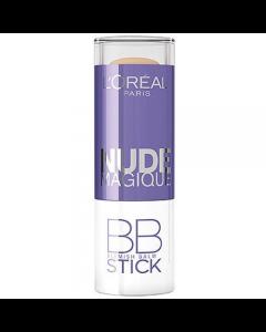 Corector L Oreal Nude Magique BB Blemish Balm Stick -  Medium To Dark Skin