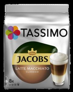 Tassimo Jacobs Latte Macchiato, 2 x 8 capsule