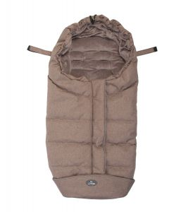 Sac de dormit pentru carucior BO Jungle Bej cu interior fleece