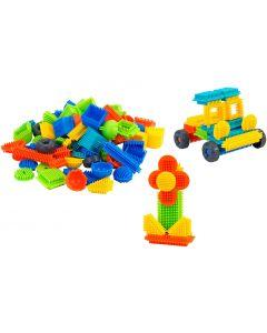 Set 100 cuburi multicolore de construit PIKO 05251