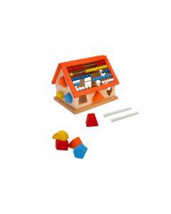 Casa lemn Globo cu activitati pentru copii