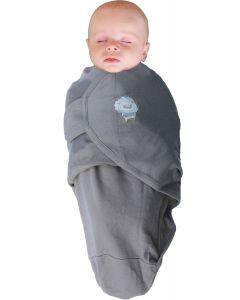 Body special tip Wrap Bo Jungle Leu pentru bebelusi marime L 6.4-10 kg din bumbac