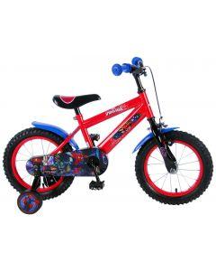 """Bicicleta pentru baieti 14"""" inch, cu roti ajutatoare, Ultimate Spiderman"""