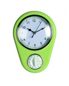 Ceas Kitchen Verde, 23 cm