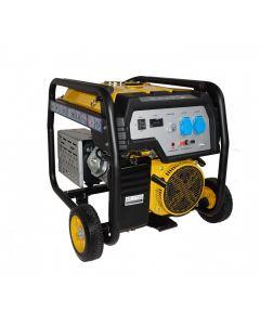 Generator Stager FD 6500E, Putere maxima 5.5 kW, Benzina, Pornire electrica, Monofazat