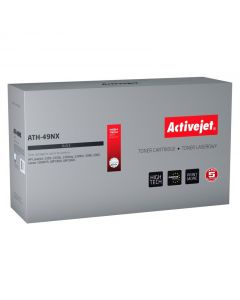 Cartus toner compatibil Q5949X 49X pentru HP, Black, 6000 pagini, Premium Activejet, Garantie 5 ani
