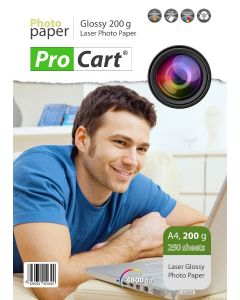 Hartie FOTO A4 laser High Glossy 200g