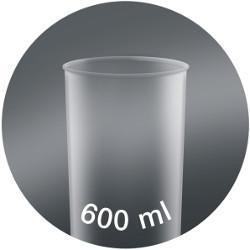 Pahar gradat de 600ml