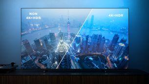 Imagine HDR vie. Televizor Philips 4K UHD.