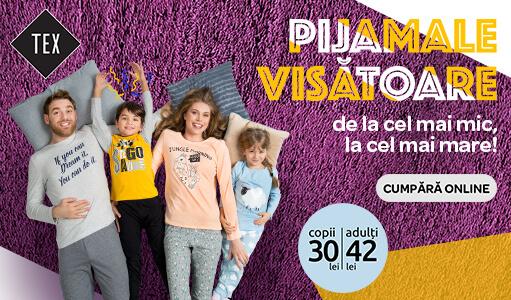 Pijamale pentru copii si adulti, ca sa visati frumos!
