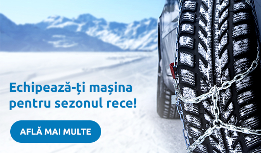 Echipeaza-ti masina pentru sezonul rece!