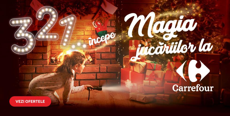 3,2,1... Incepe Magia Jucariilor la Carrefour!