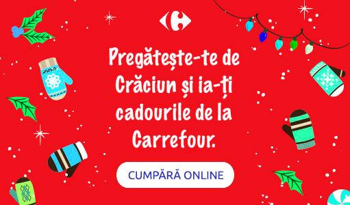 Cumpara tot ce-ti trebuie pentru sarbatori de la Carrefour!